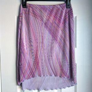 y2k Vintage obe high-low skirt